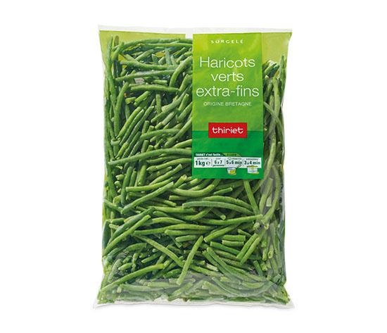 Haricots verts extra-fins : le 2ème à -50%