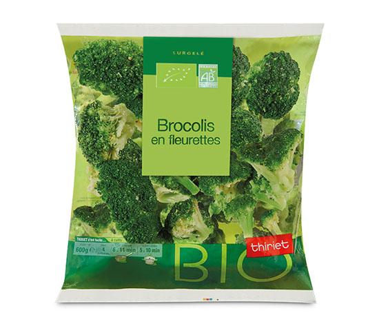 Brocolis en fleurettes biologiques