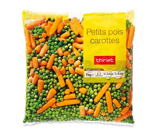 Petits pois/carottes
