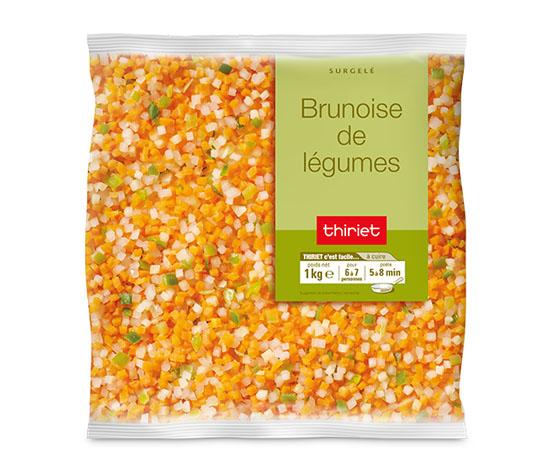 Brunoise de légumes