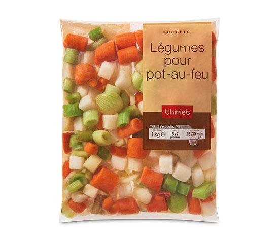 Légumes pour pot-au-feu