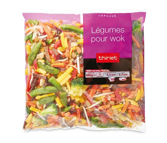 Légumes pour wok