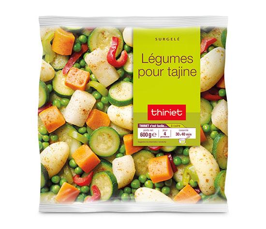 Légumes pour tajine