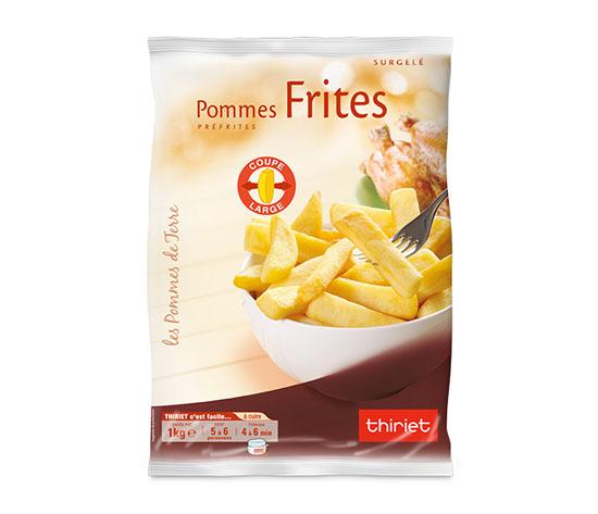 Frites 'coupe large'
