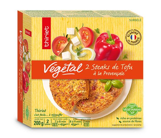 Lot de 2 x 2 Steaks végétaux au choix !
