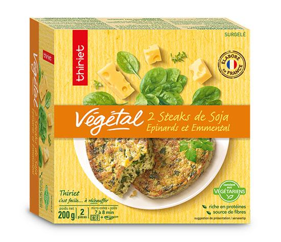 2 steaks végétaux : la 2ème à -50% !