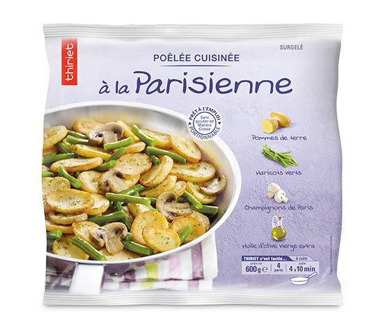Les 2 poêlées cuisinées à la parisienne