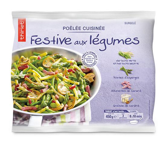 Poêlée cuisinée festive aux légumes
