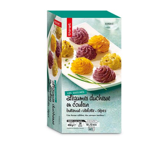 Légumes duchesse en couleur