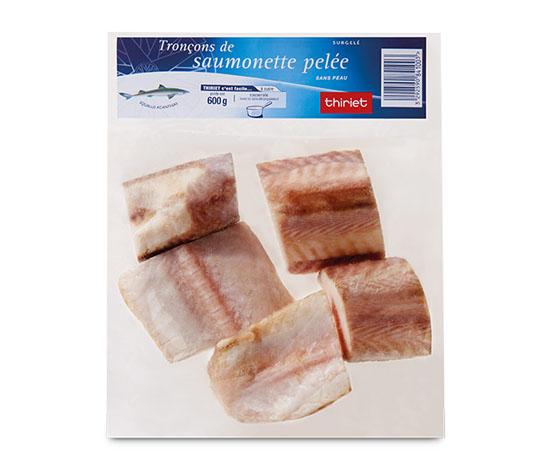 Tronçons saumonnette 1+1 à -68%