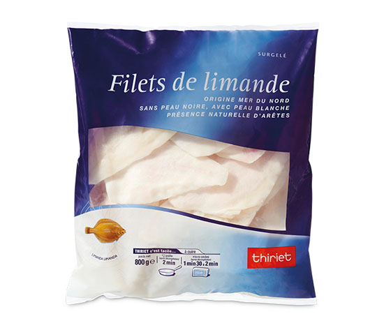 Filets de limande