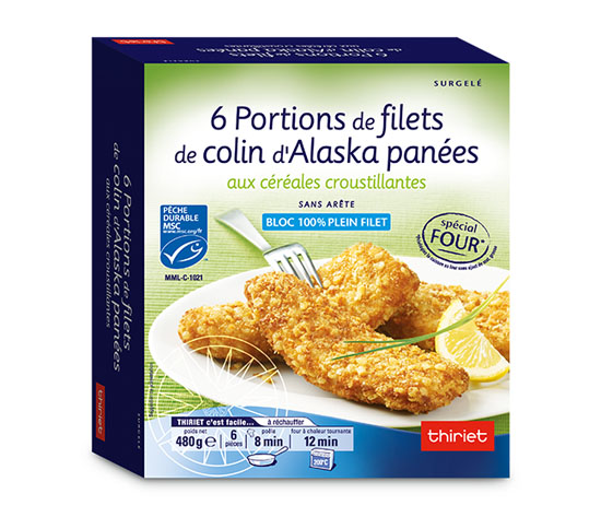 6 filets colin alaska : la 2ème à - 70% !