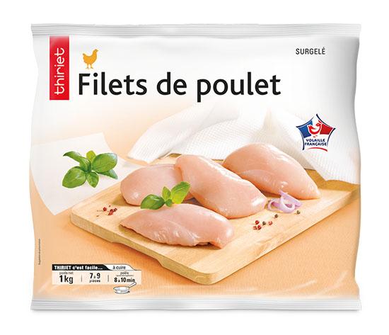 Filets de poulet