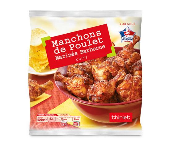 Manchons de poulet marinés barbecue