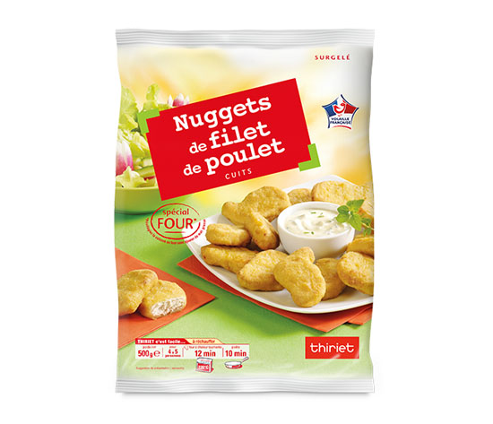 Nuggets de filet de poulet