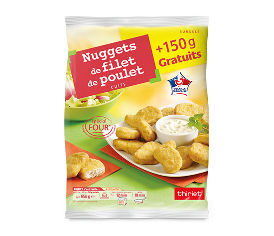 Nuggets de filet de poulet - Maxi format - 650 g