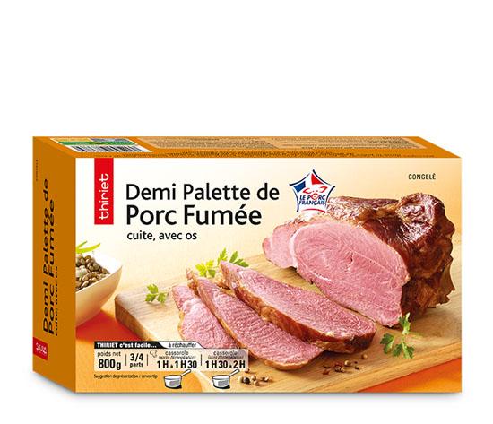 Demi palette de porc cuite fumée