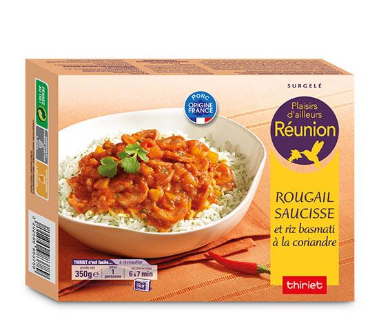 Rougail saucisse riz : la 2ème à -50% !