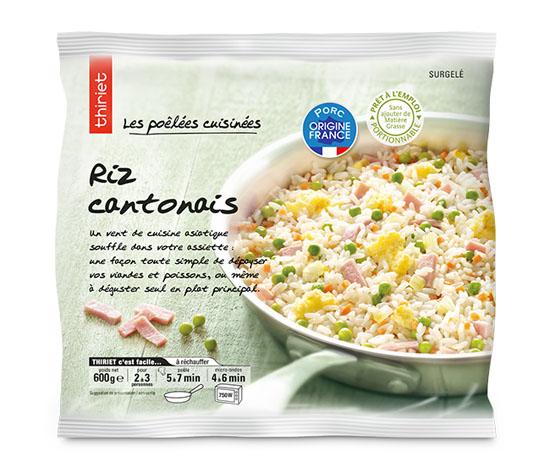 Les 2 sachets de riz cantonais
