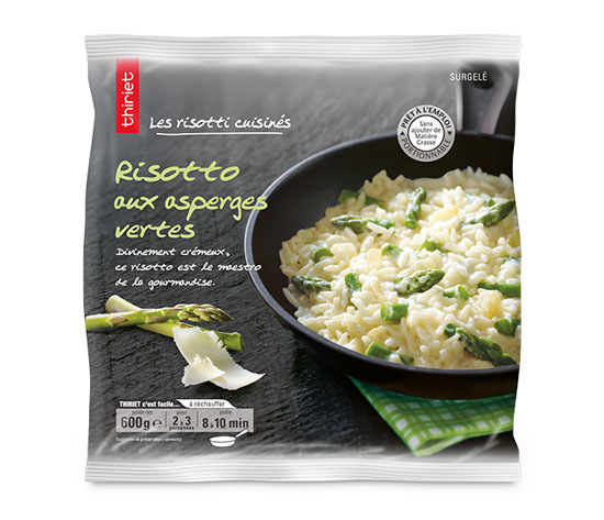 Risotto aux asperges vertes : le 2ème est à -60% !