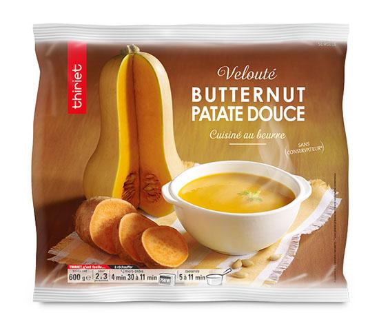 Velouté butternut/patate douce