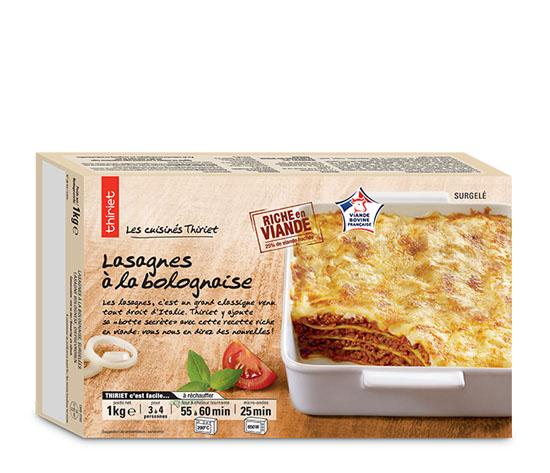 Lasagnes à la bolognaise : la 2ème à -50% !