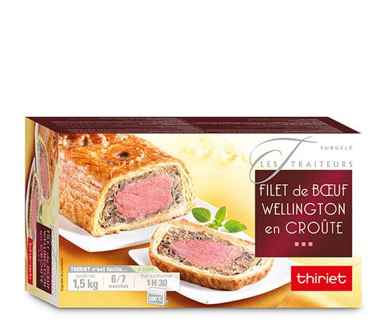 Filet de boeuf Wellington en croûte