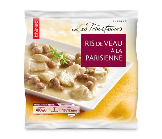 Ris de veau à la parisienne
