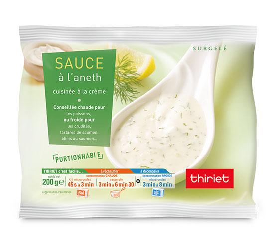 Sauce à l'aneth