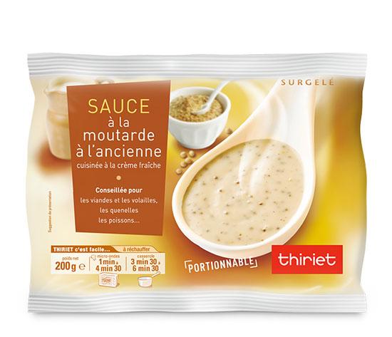 Sauce à la moutarde à l'ancienne