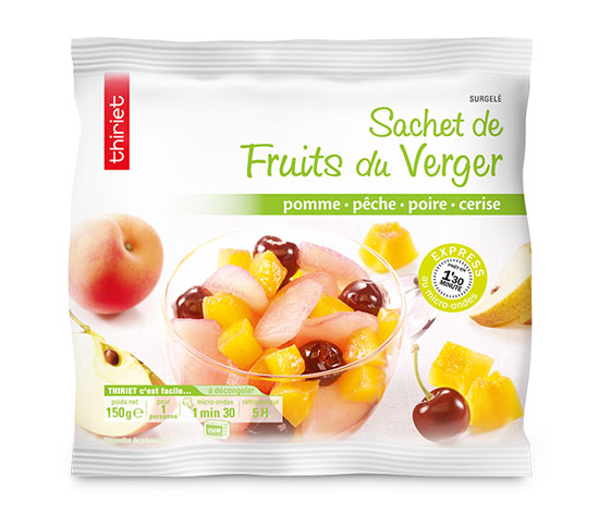 Lot de 2 x 1 sachet de fruits au choix