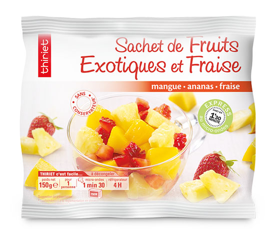 Lot de 2 Sachets de fruits au choix