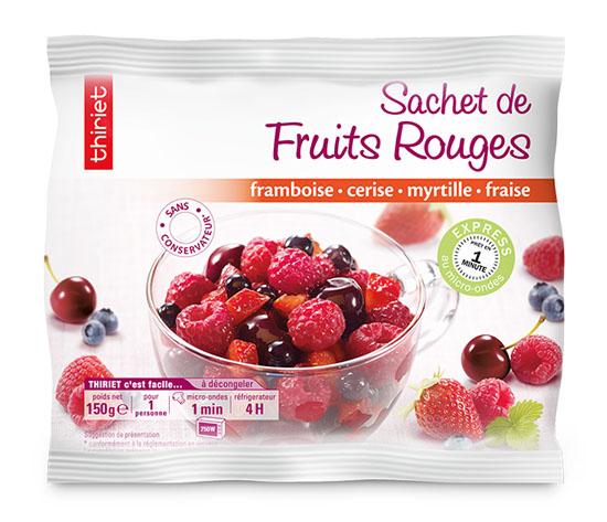 Sachet de fruits rouges