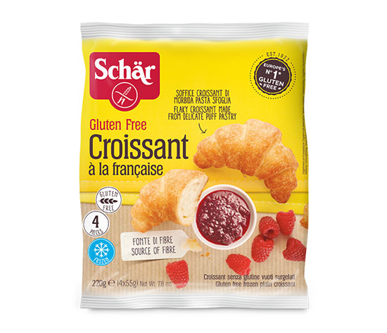 4 Croissants sans gluten