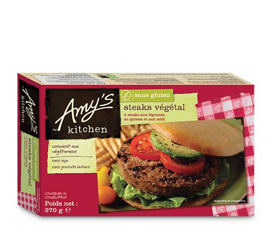 4 Steaks végétaux sans gluten