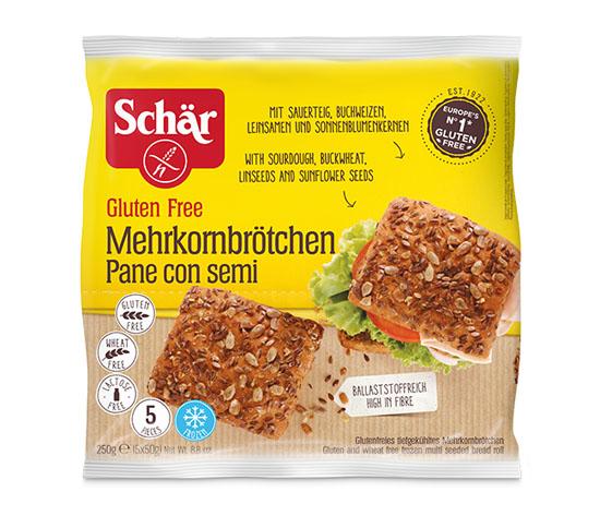 5 Petits pains aux graines sans gluten