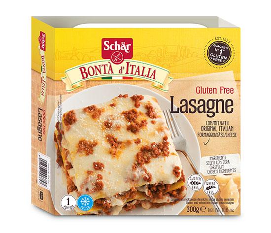 Lasagnes sans gluten