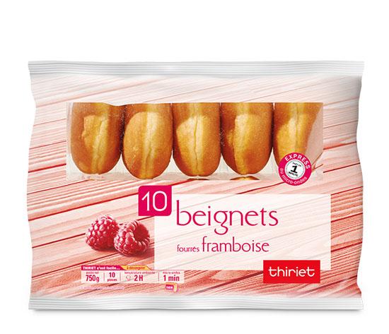 10 Beignets fourrés framboise