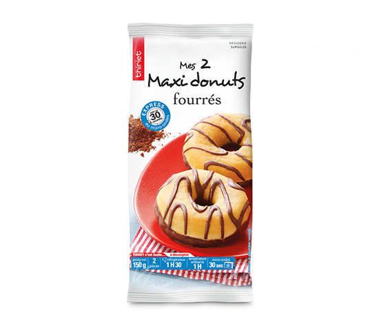 2 Maxi donuts fourrés