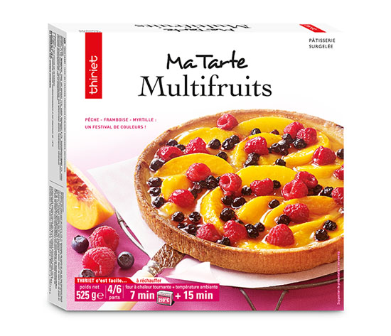 Tarte multifruits