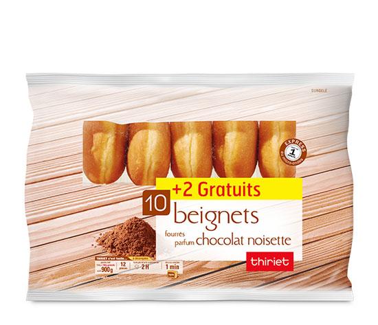12 Beignets fourrés chocolat noisette