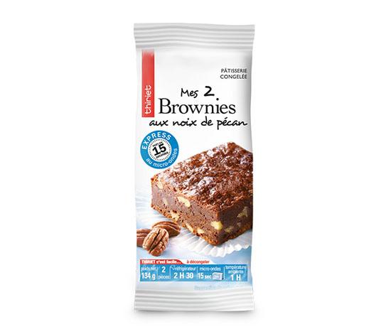 2 Brownies aux noix de pécan