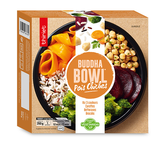 Buddha Bowl Pois Chiches
