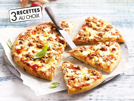 Entrées Snacking Tartes - Pour une pizza 400g achetée la 2ème à -50%