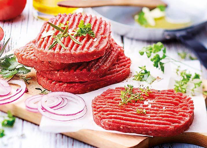 Lot de 2 x 10 steaks hachés