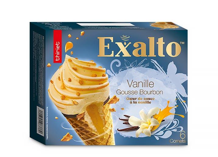 6 Cornets Exalto™ Vanille gousse Bourbon