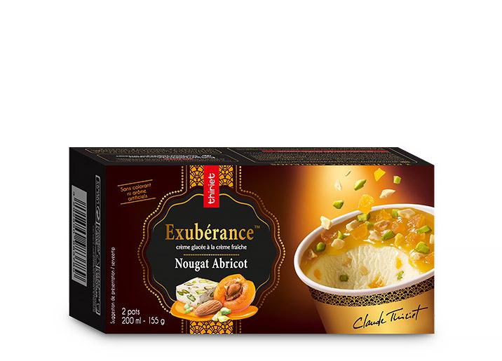 2 Pots Exubérance™ Nougat de Montélimar abricot