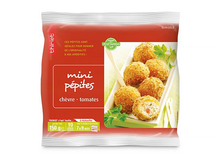 Mini pépites chèvre/tomates