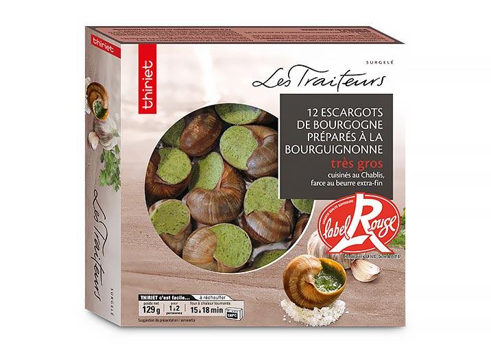 12 Escargots Bourgogne Label Rouge très gros
