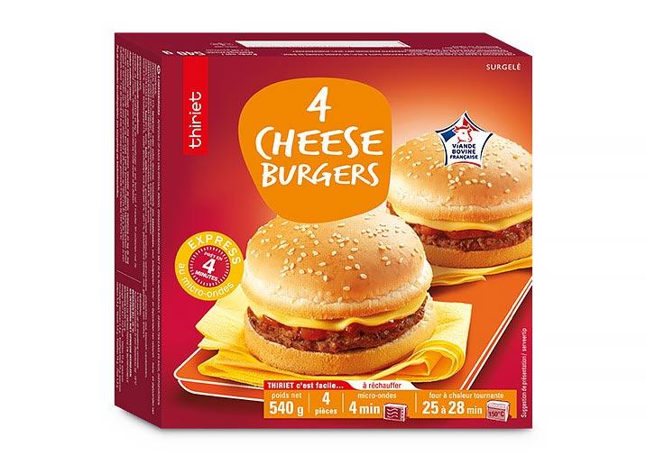 4 Cheeseburgers